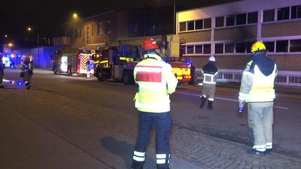 Terrornätverket IS tar på sig brand i Malmö
