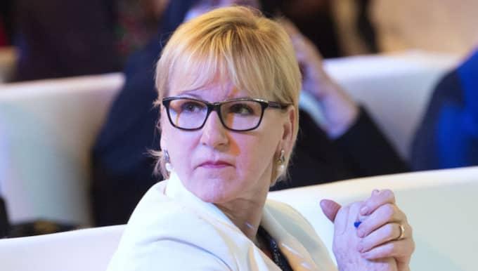 """Margot Wallström är kritisk mot fackförbundets avtal. """"Det verkar vara absolut ingen ordning och reda i deras avtal. Vad jag förstår är det ett avtal som alla som hyr tillfälligt har, och då har ju Kommunal ett stort problem"""", säger Wallström. Foto: Sven Lindwall"""