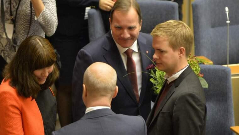 Stefan Löfven är Sveriges nya statsminister Foto: Tommy Pedersen