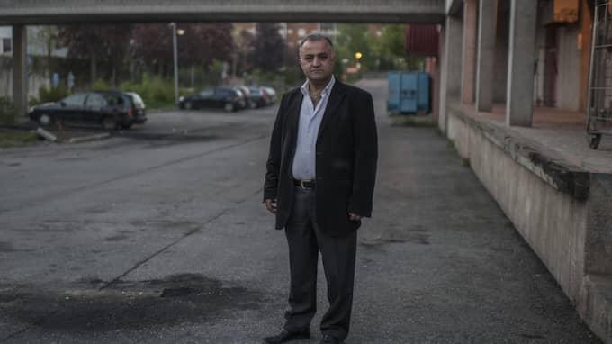 """""""Jag känner att man har gett bort en del av Stockholm till kriminella"""", säger han. Foto: Christoffer Hjalmarsson"""