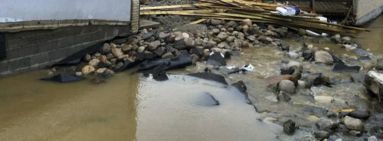 Översvämningrisk i Upperudsälven i Dalsland och på flera andra platser i väst. Foto: Per Magne Moan