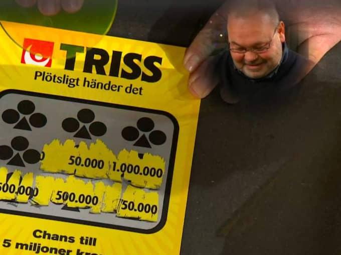 """Peter kammade hem 50 000 kronor i """"Nyhetsmorgon"""". Foto: TV4."""