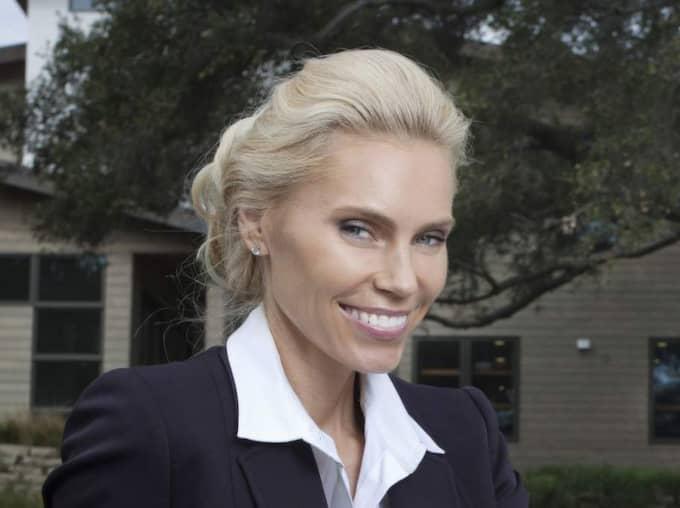 Den tidigare Hollywoodfrun har inte mycket till övers för porrstjärnan Puma Swedes medverkan i TV3:s program. Foto: Thomas Engsstrom