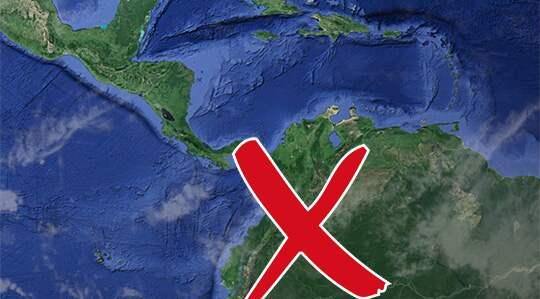 Julia Wendt, 22, är på resa i Colombia. Foto: Google maps
