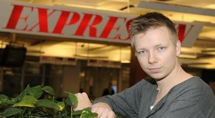 Emanuel Karlsten blir ny redaktör för sociala medier på Expressen. Foto: Jan Düsing