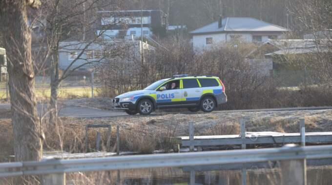Till slut hittades kvinnan i en rivningsbyggnad. Foto: Jens Christian Andersson / TOPNEWS.SE