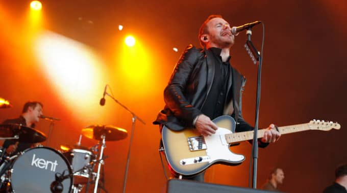 Parallellt med sina hyllade studioskivor har Kent också varit ett av landets största liveband. Foto: Jan Wiriden