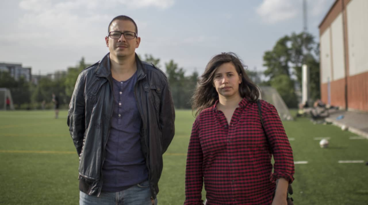 Federico Moreno och Meli Petersson Ellafi