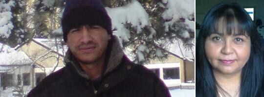 MÖRDAD. Elektrikern Tito Orlando Alcocer Rodriguez, 37, mördades i lördags natt under en festnatt i Uppsala med två kvinnor. Båda misstänks för inblandning i knivmordet. Hans exfru Lorena befarar att sms:en till henne ligger bakom mordet. Foto: Privat