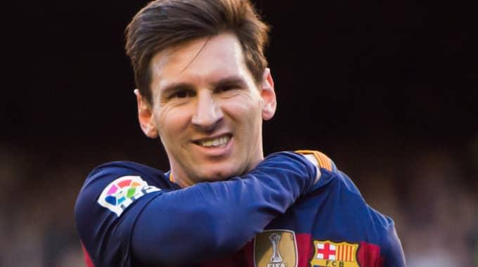 Nobbad av Messi Foto: Alex Caparros