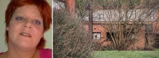 HÄR HITTADES KROPPEN I KYLSKÅPET. Kvinnans 44-årige före detta sambo har på senare tid bott på en nedlagd bondgård utanför Nakskov. Där fanns kylskåpet undangömt i ett uthus. Foto: Polisen, Per Rasmussen