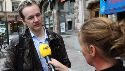 Expressen avslöjade den 21 augusti att Wikileaks-grundaren Julian Assange var misstänkt för våldtäkt. Foto: Roger Vikström