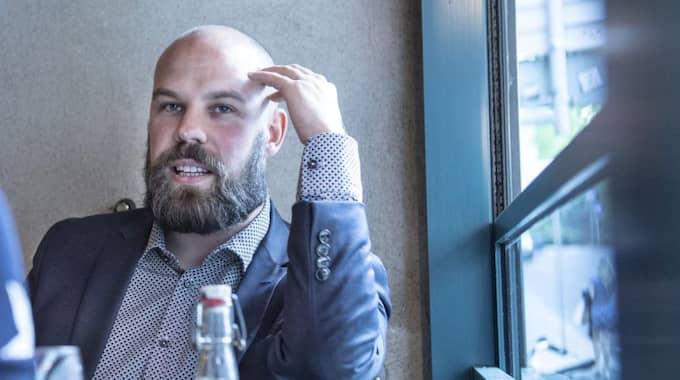 Författaren och Expressen Kultur-medarbetaren Daniel Suhonen. Foto: Tommy Pedersen