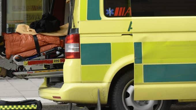 Ambulanspersonal. Foto: Janerik Henriksson / Tt