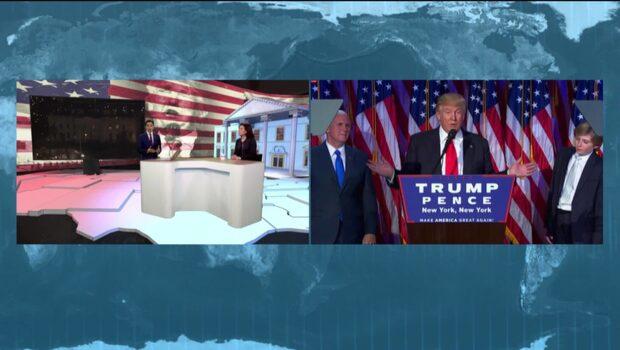 """""""Vi vet inte riktigt vart den här presidenten står"""""""