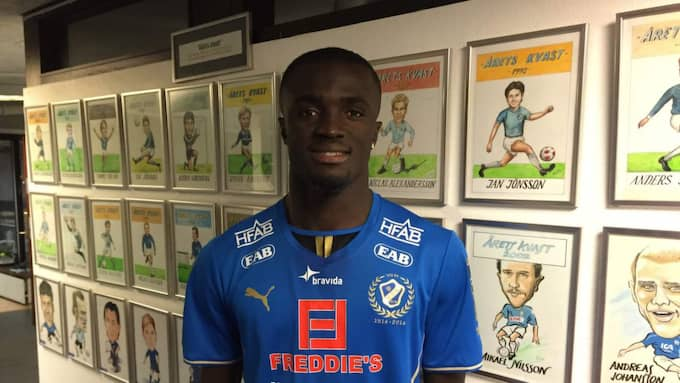 Kwame Karikari köps loss från sitt kontrakt med AIK och spelar med HBK i allsvenskan i vår. Foto: Fredrik Jonsson Foto: Fredrik Jonsson