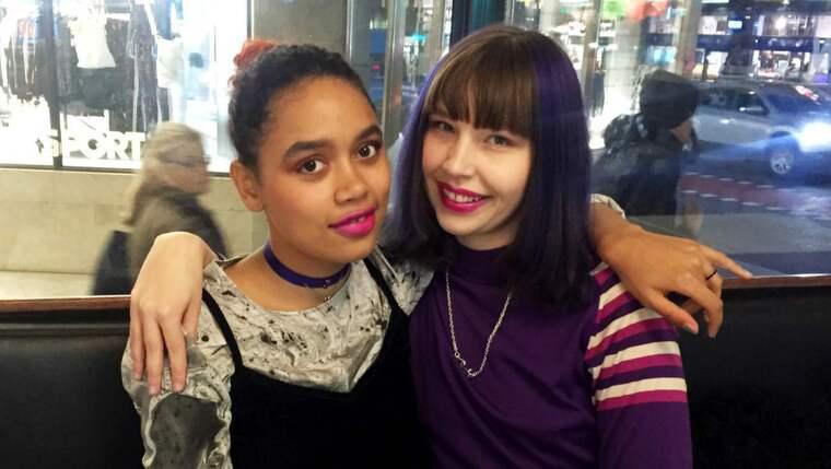 Det slog gnistor när Rae och Rebecca hittade varandra i Instagramflödet. Foto: Magda Omerspahic