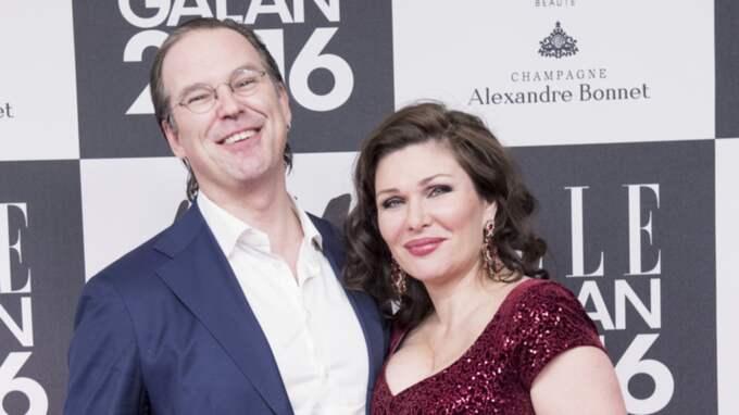 Anders Borg och Dominica Peczynski är ett par sedan en tid tillbaka. Här ses de på Elle-galan tidigare i januari. Foto: Olle Sporrong