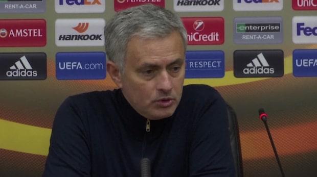 """Mourinho inför möte med Tottenham: """"Vi behöver fler poäng"""""""
