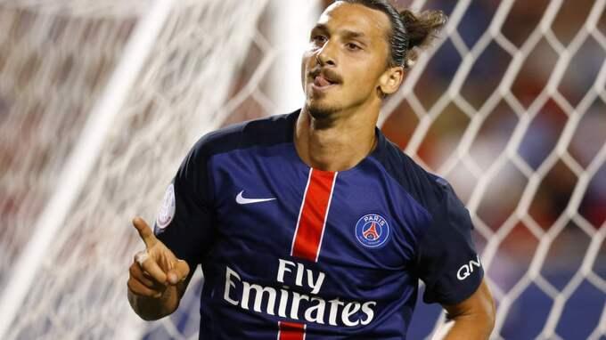 Tillbaka. I kväll ställs Zlatan Ibrahimovic och hans PSG mot Zlatans moderklubb Malmö FF i Champions League. Foto: Jeff Haynes/Reuters
