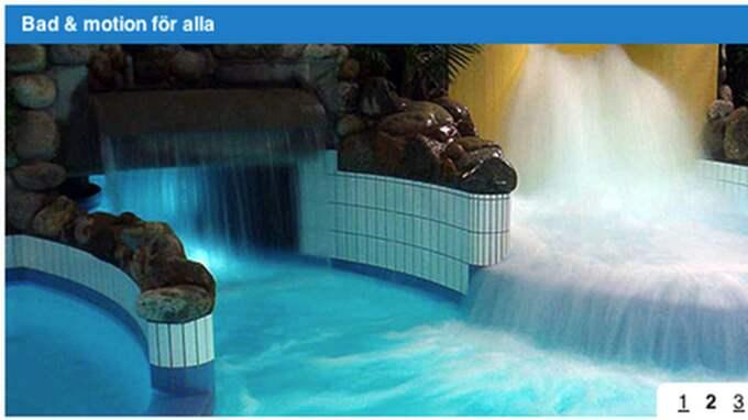 En flicka ofredades på en simhall i Växjö.