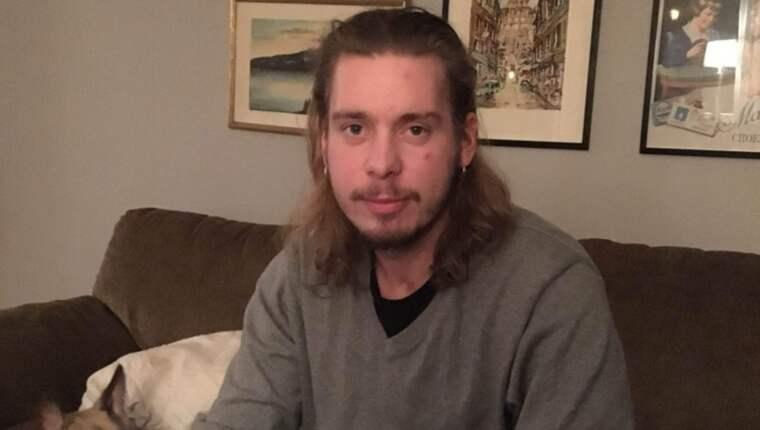 Jesper Nodbrandts, 24, krock på motorcykel slutade i förödelse. Foto: Privat