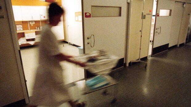 Gravid kvinna dog på sjukhuset