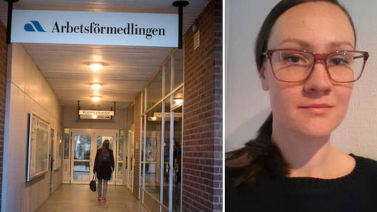 Svala Firus, psykolog på Arbetsförmedlingen, varnar för den grupp unga arbetssökande som inte anstränger sig. Foto: Tommy Pedersen och privat