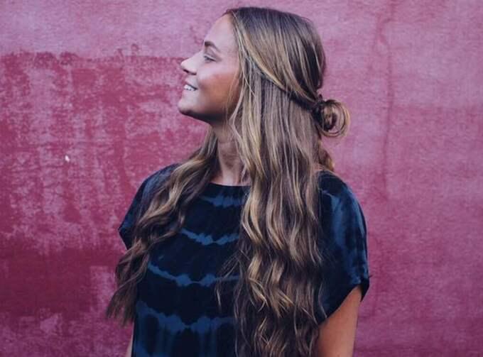 anny Nilssons jobb de kommande månaderna blir att fotografera livet hon lever i Australien med lite extra fokus på hår och hårprodukter. Foto: Privat