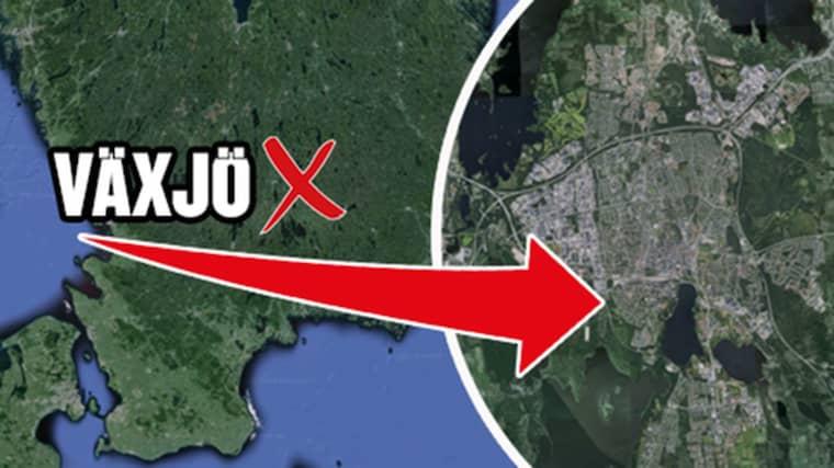 Den misstänkta våldtäkten ska ha skett vid en skola i Växjö.