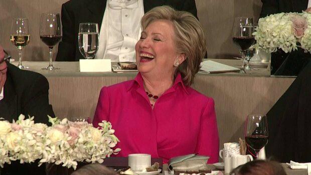 Trump utbuad efter Clinton-skämtet