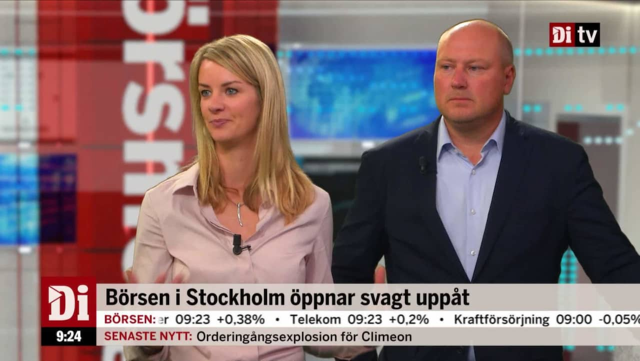 Stockholmsborsen oppnar svagt uppat
