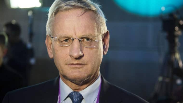 Utrikesminister Carl Bildt (M) bekräftar nu att ryska stridsplan har kränkt svenskt luftrum. Foto: Anna-Karin Nilsson