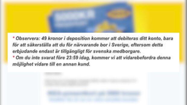 Ikea-bluffen – kunder luras på pengar
