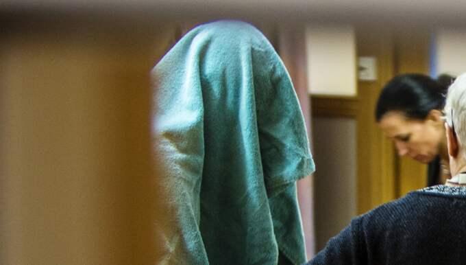 Misstänkte 39-åringen i rätten. Foto: Henrik Jansson