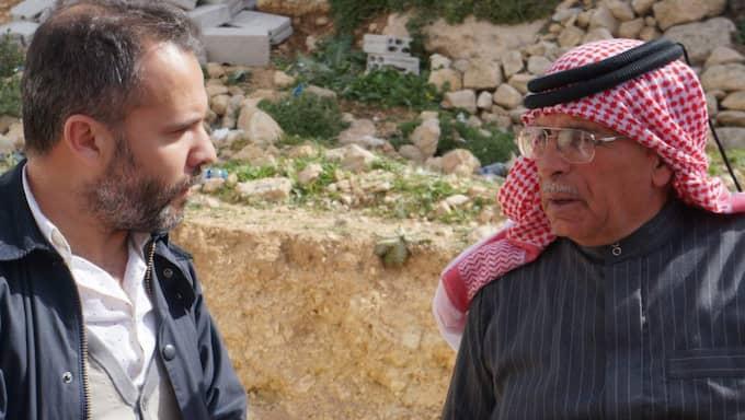 Expressens reporter Kassem Hamadé träffade Safi al-Kasasbeh, pappa till mördade stridspiloten Moaz al-Kasasbeh.