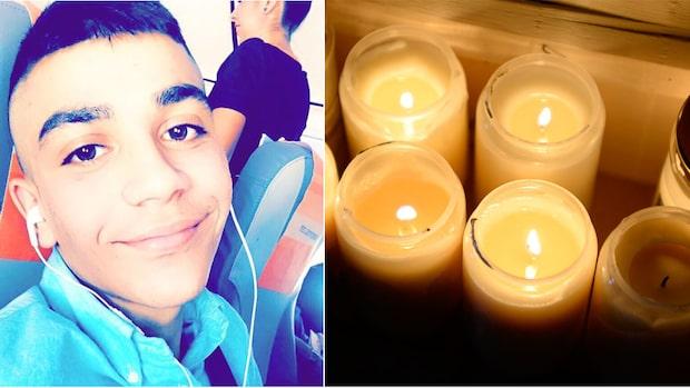 Ahmed, 16, sköts till döds vid bussen