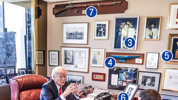 Detaljerna i Donald Trumps mansgrotta