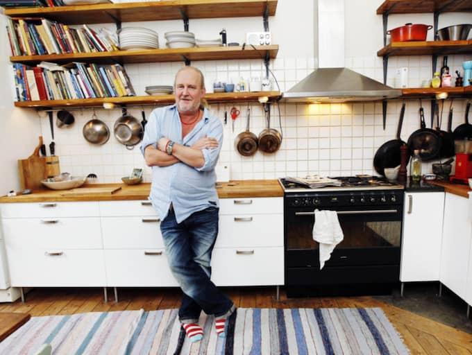 Plura Jonsson säljer sin lägenhet på Kungsholmen i Stockholm. Foto: Cornelia Nordström