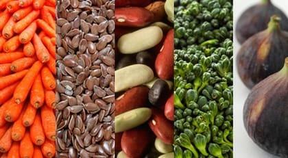 mat med fibrer