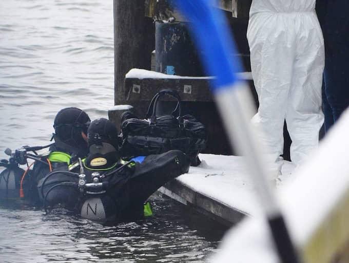 En död kvinna och en död man hittades i sjön i Österrike Foto: Thomas Leitner / Epa / Tt