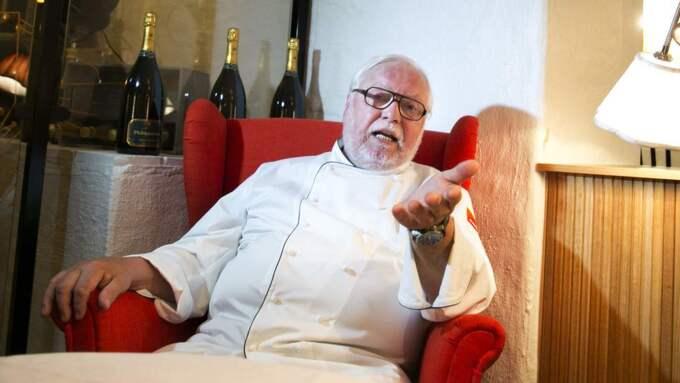 Stjärnkrögaren Leif Mannerström rasar mot den torftiga maten på äldreboendet i Sundsvall. Foto: Lennart Rehnman