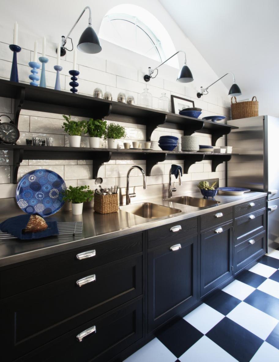 Lantligt modernt kok Рm̦bel f̦r k̦k, sovrum