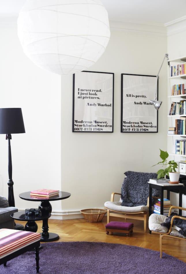Personligt& trivsamt i luftiga lägenheten Leva& bo Expressen