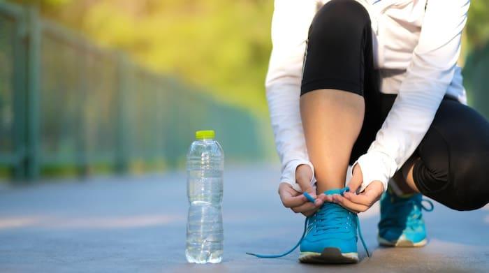 gå ner i vikt promenad schema