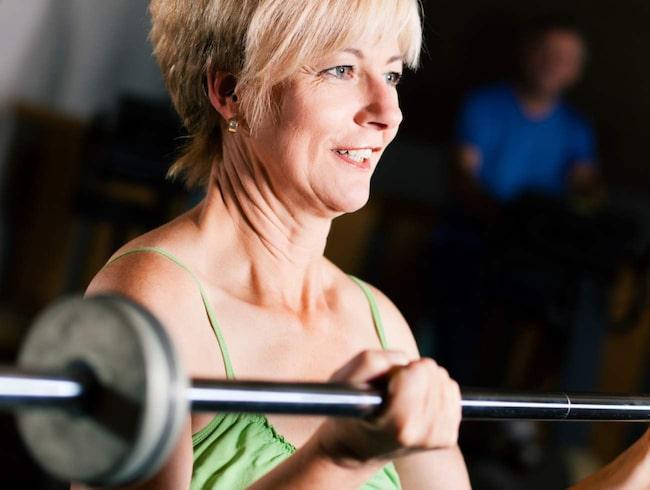 <span>Styrketräning blir ännu viktigare när du börjar komma upp i åren.</span>