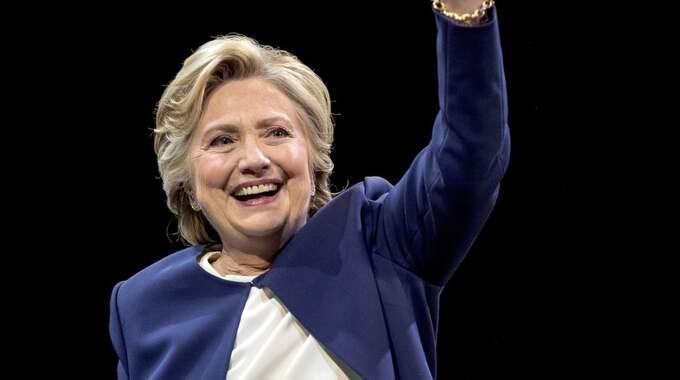 Hillary Clinton. Foto: Andrew Harnik / AP TT / NTB SCANPIX