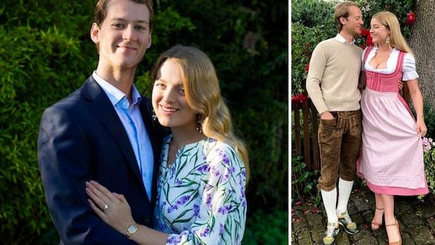 Svenska Tim gifter in sig i brittiska kungafamiljen