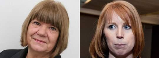 Eva Andersson, gruppledare för Centerpartiet i Nyköping, menar att det är hög tid att Annie Lööf och de andra personerna i partiledningen rannsakar sig själva. Foto: Centern, Anna-Karin Nilsson