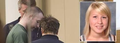 Casper El-Kaissi Östlöv under förhandlingen i hovrätten. Han misshandlade sin ex-flickvän Emma, 20, brutalt på ett fält utanför Kristianstad. Foto: Ulf Ryd och Privat